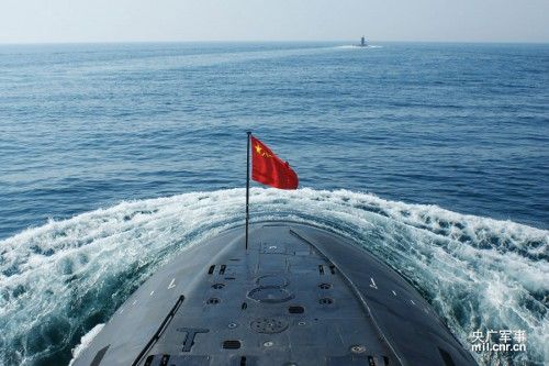 Chinese Kilo-class submarine. Chinamil photo