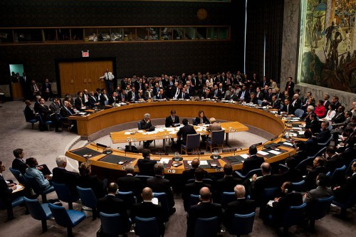 The United Nations Security Council in session, September 24, 2009